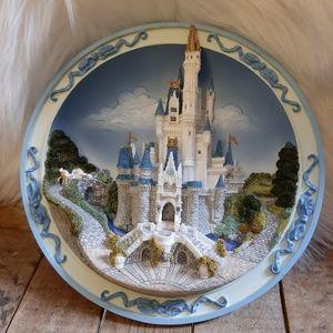 Disney Cinderella 3D Castle Plate/hanging